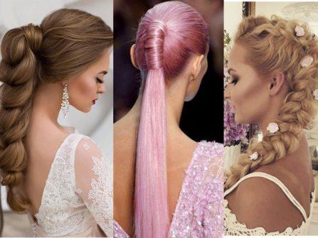 3 xu hướng tóc cô dâu đẹp nổi bật năm 2017