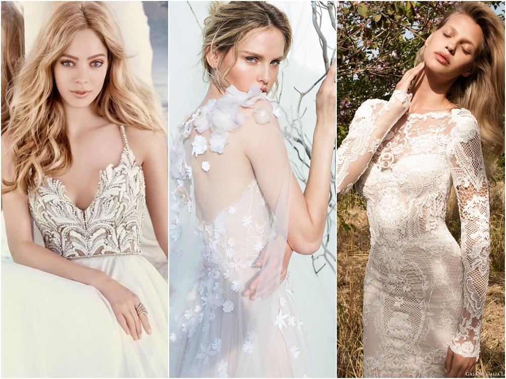 3 Xu hướng váy cưới ấn tượng nhất Thu Đông 2016