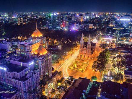5 điểm đón Giáng sinh lý tưởng cho các cặp đôi thỏa sức ngắm Sài Gòn từ trên cao