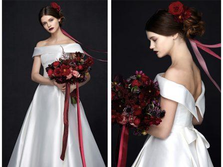 Vẻ đẹp trong ngần của BST váy cưới Porcelain