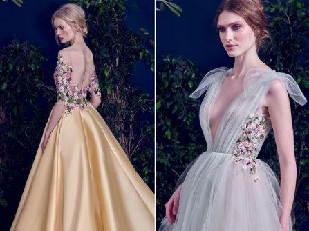 Phong cách Botanical - xu hướng váy cưới thịnh hành năm 2017