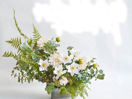 Tự tay thực hiện lọ hoa cưới để bàn phong cách Rustic