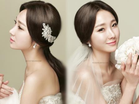 Xu hướng trang điểm cô dâu: Tinh khiết như sương mai