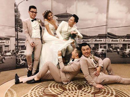 Đám cưới phong cách Sài Gòn xưa của ca sĩ Đình Bảo tại Mỹ