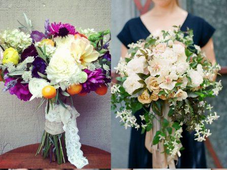 4 mẫu hoa cưới cầm tay giản đơn mà sang trọng