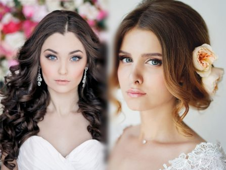 Gợi ý tóc cưới đẹp cho cô dâu sở hữu suối tóc dài suôn mượt