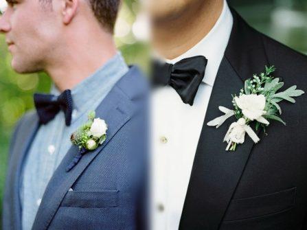 Tổng hợp những gợi ý hoa cài áo chú rể mang tông pastel nhẹ nhàng