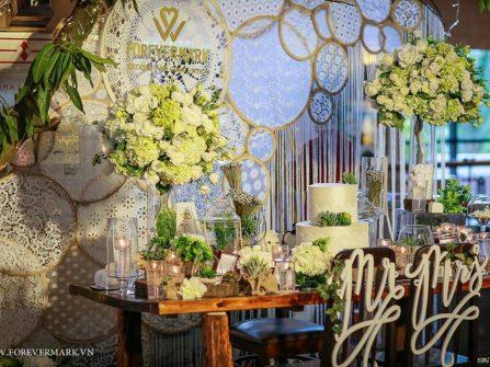 Tiệc cưới mùa xuân với gói khuyến mãi cưới hấp dẫn tại Forevermark