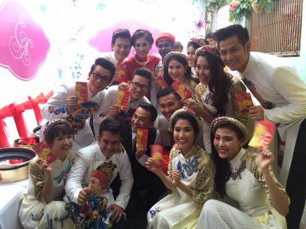 """Dàn sao Việt cực """"nhoi"""" trong ngày đính hôn của DV Nguyệt Ánh"""