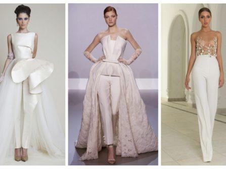 Váy cưới cô dâu - Jumpsuit cho ngày cưới? Tại sao không?