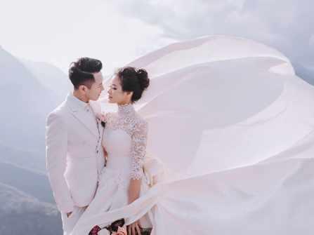Bộ ảnh cưới vừa chất vừa tình của cặp đôi 9x tại Sapa