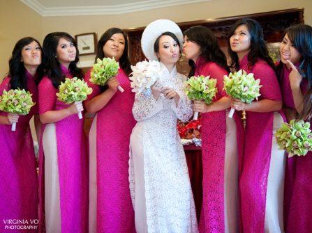 """Cô dâu """"phì nhiêu"""" vẫn xinh nếu biết chọn áo dài cho người mập"""