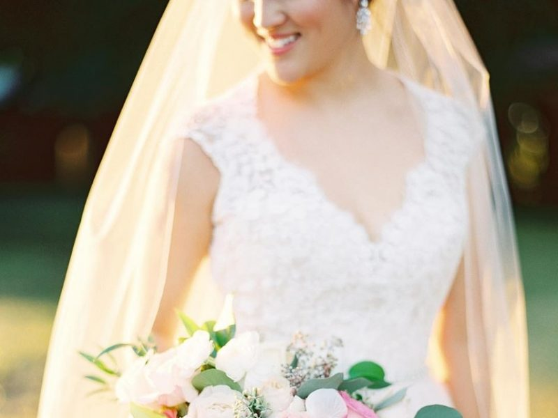 hoa cưới hoa hồng cho đám cưới đẹp như cổ tích 2