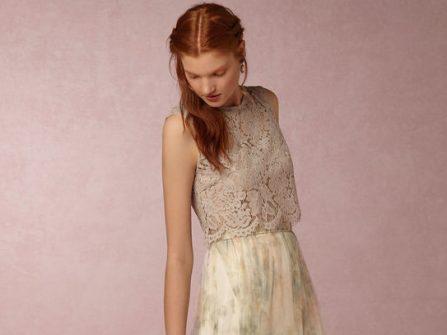 Váy phụ dâu - Đón hè cùng những thiết kế hoa lá rực rỡ