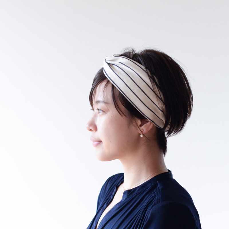 băng đô turban làm đẹp tóc ngắn 6