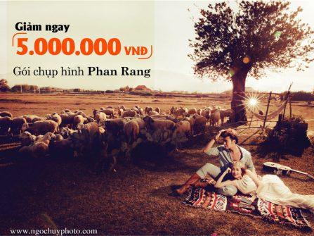 Ngọc Huy Studio ưu đãi đặc biệt cho gói chụp hình tại Phan Rang