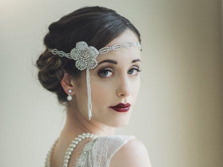 Phong cách trang điểm vintage cho cô dâu hoài cổ