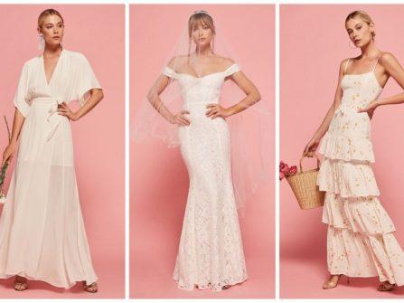 Bộ sưu tập váy cưới mùa hè của thương hiệu Reformation