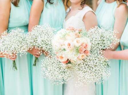Hoa cưới đẹp - Tô vẽ ngày cưới cùng sắc trắng ngọt ngào