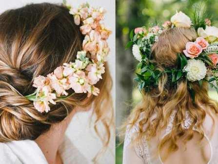 Hoa cưới đẹp - Vương miện hoa xinh xắn cho ngày cưới