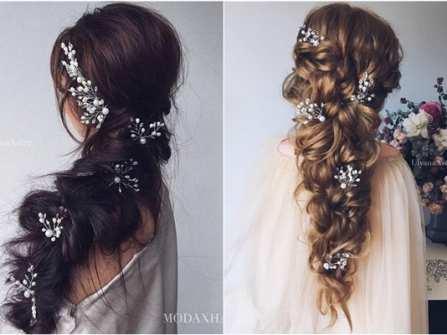 Tóc cô dâu - Phụ kiện xinh xắn cho nàng tóc dài