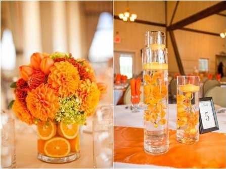 Theme cưới đẹp - Tràn ngập niềm vui cùng tông cam ngọt