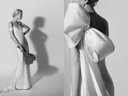 Cô dâu hóa minh tinh trong bộ sưu tập váy cưới của Carolina Herrera