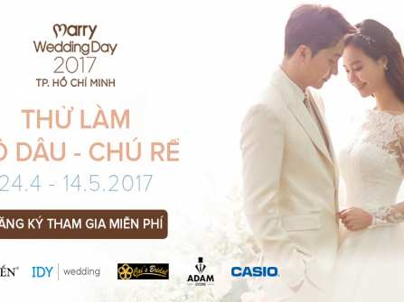 """Kết quả cuộc thi """"Thử làm cô dâu – Chú rể"""" tại Marry Wedding Day HCM 2017"""
