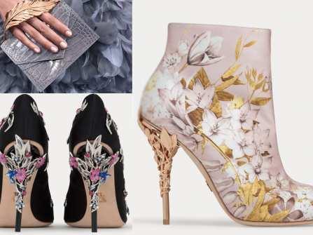 Giày cưới đẹp - BST phụ kiện xinh xắn từ Ralph&Russo