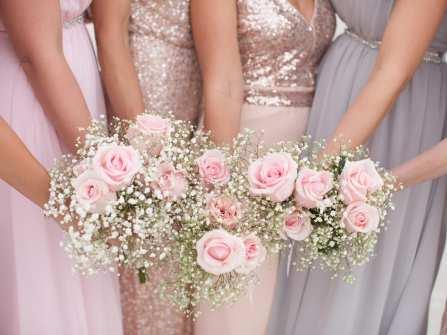 Hoa Baby trắng tinh khôi tôn lên nét đẹp thuần khiết của cô dâu