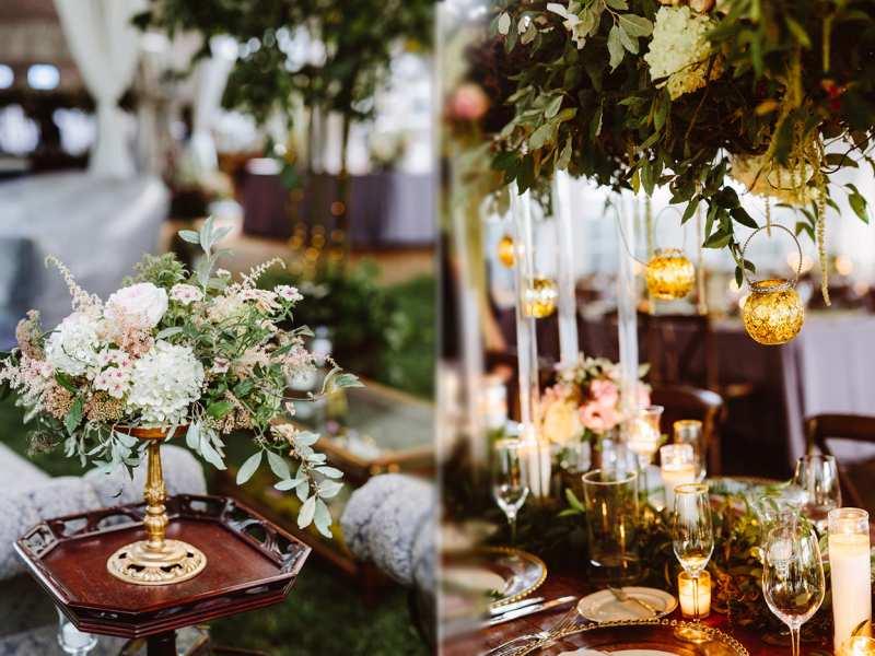 Theme cưới đẹp - Sắc greenery xanh mát cùng cây lá thơ mộng