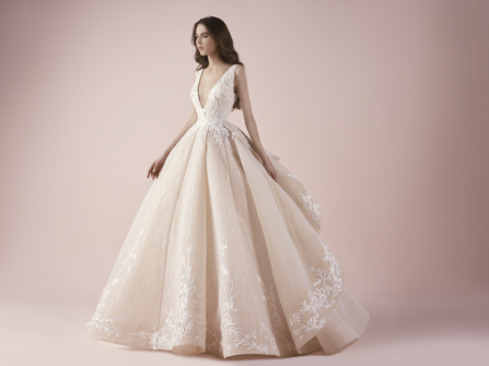 BST váy cưới Saiid Kobeisy: Nàng tiên mơ mộng mùa Hè