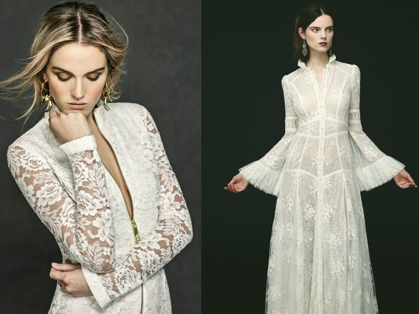 phong cách gothic cô dâu hiện đại