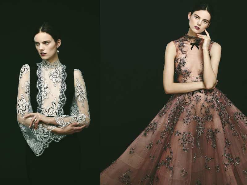 phong cách gothic váy cưới hiện đại