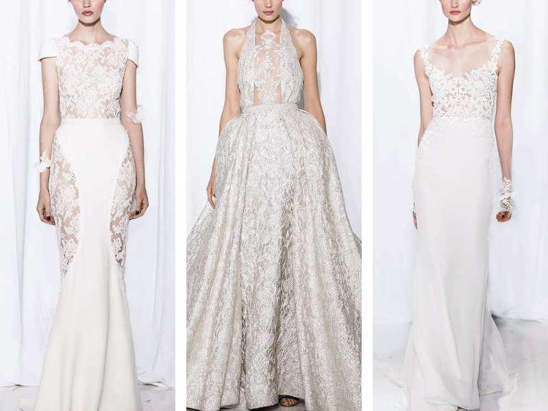 Cùng Marry chiêm ngưỡng các thiết kế váy cưới ren xuyên thấu gợi cảm và quyến rũ từ thương hiệu thời trang danh giá thế giới Reem Acra dành cho mùa Thu Đông 2017.