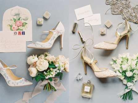 Bộ sưu tập giày cô dâu đẹp như thơ từ Bella Belle