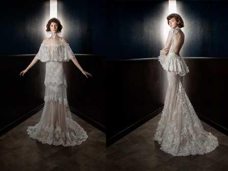 Cô dâu tóc ngắn xinh đẹp trong thiết kế mới nhất từ Galia Lahav