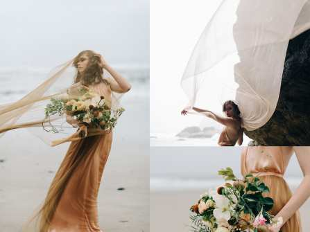 Chụp ảnh cưới ở biển - Gợi ý góc chụp đẹp tựa nữ thần
