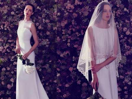 Váy cưới chữ A phong cách cổ điển cho tín đồ vintage
