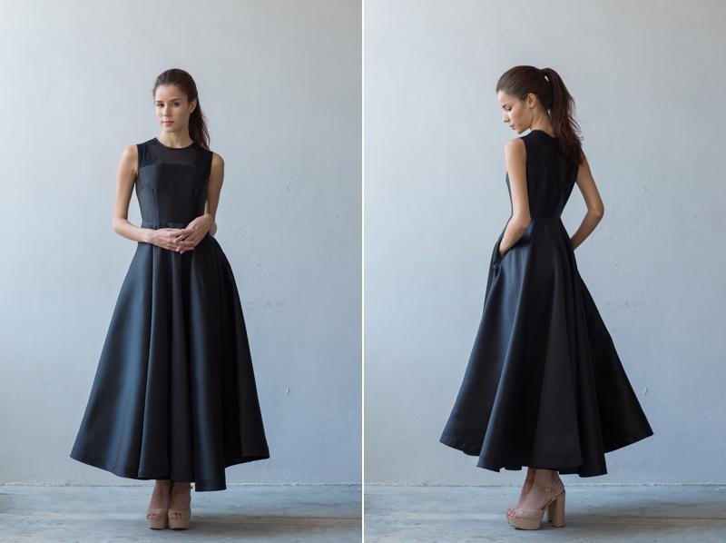 váy phù dâu cổ điển 7
