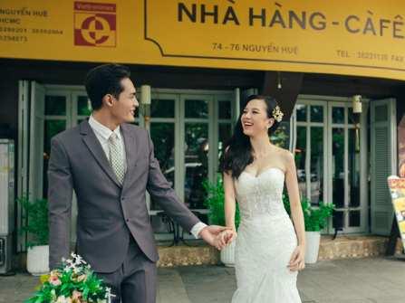 Bí quyết tạo khoảnh khắc tự nhiên cho bộ ảnh cưới đẹp
