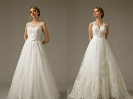 Váy cưới đẹp sắc trắng bồng bềnh cho nàng dâu nữ tính