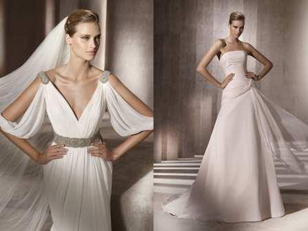 Váy cưới phong cách nữ thần Hy Lạp lộng lẫy