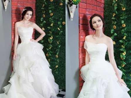 Váy cưới đẹp bồng bềnh như công chúa cho nàng nữ tính