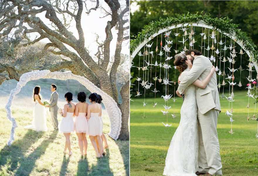 cổng hoa cưới đẹp 1