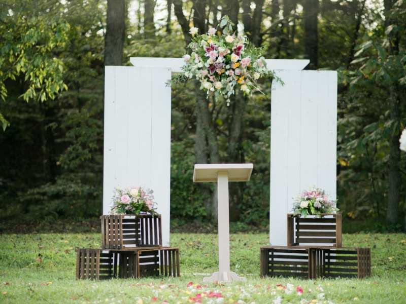 cổng hoa cưới đẹp 6