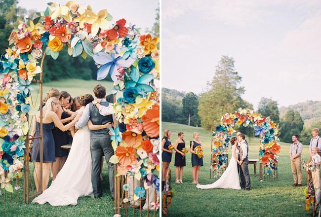 cổng hoa cưới đẹp 5