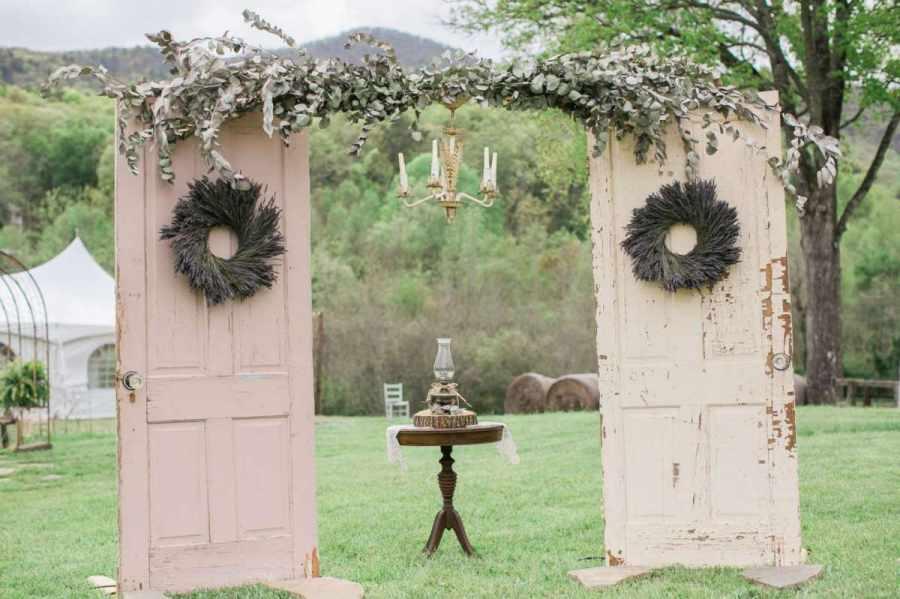 cổng hoa cưới đẹp 3