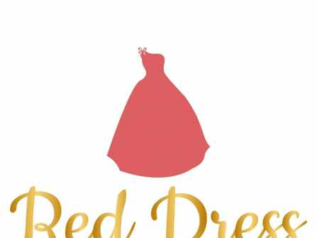 Váy đầm phù dâu Red Dress