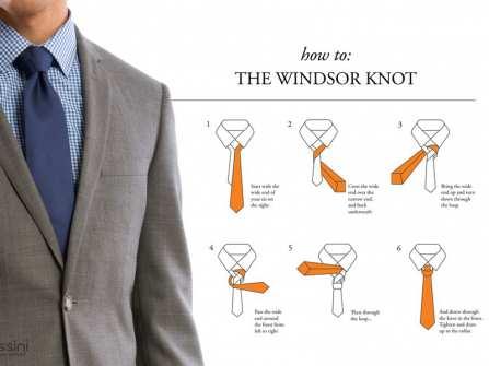 Cách thắt cà vạt đơn giản nhất cho những chú rể